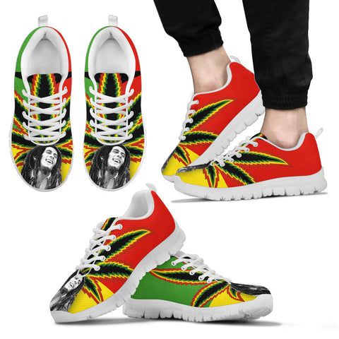 Bob Marley Inspired Sneakers D2