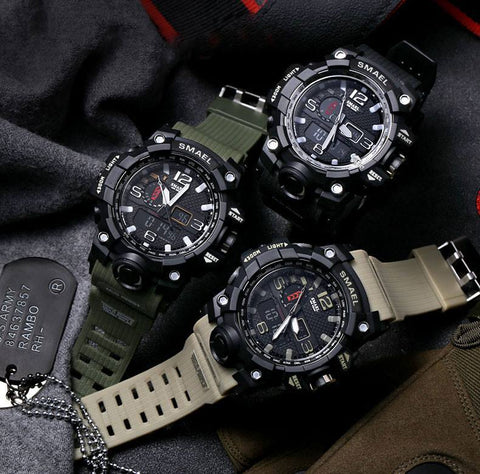 Tactical Waterproof & Shockproof Watch