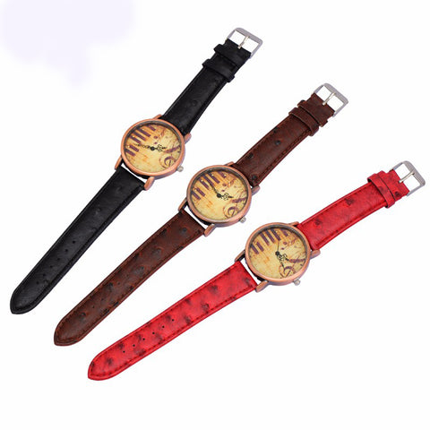Piano Musical Retro Bracelet Watches