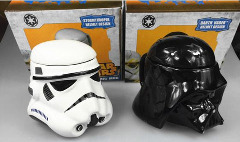 Star Wars Black & White Warrior Water Cup