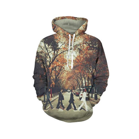 The Beatles Pullover Hoodies - Design C