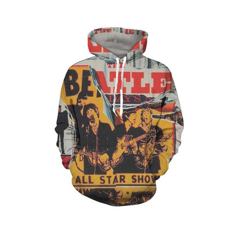The Beatles Pullover Hoodies - Design D
