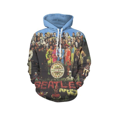 The Beatles Pullover Hoodies - Design E