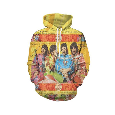 The Beatles Pullover Hoodies - Design G
