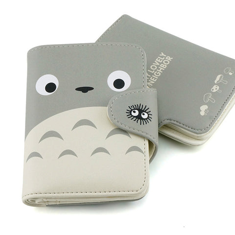 Cute Face Totoro Wallet