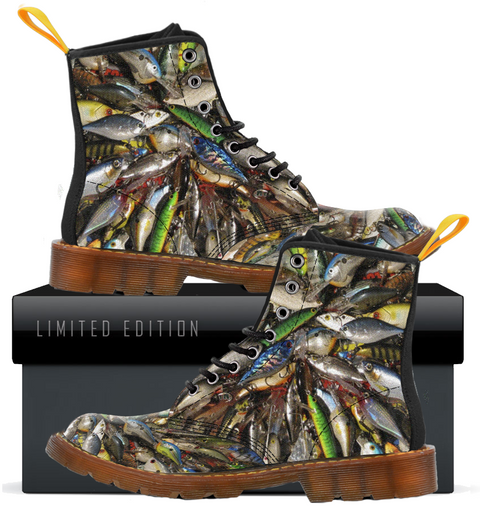 Fishing Lovers Canvas Boots For Men E
