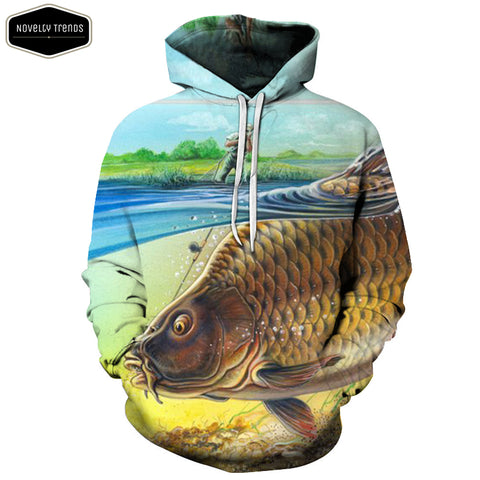 Fishing Lovers Unisex Hoodie A5