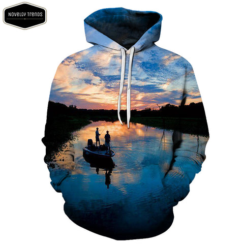 Fishing Lovers Unisex Hoodie A19