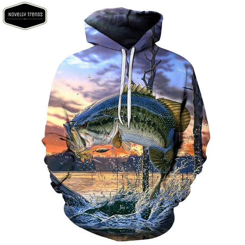 Fishing Lovers Unisex Hoodie C