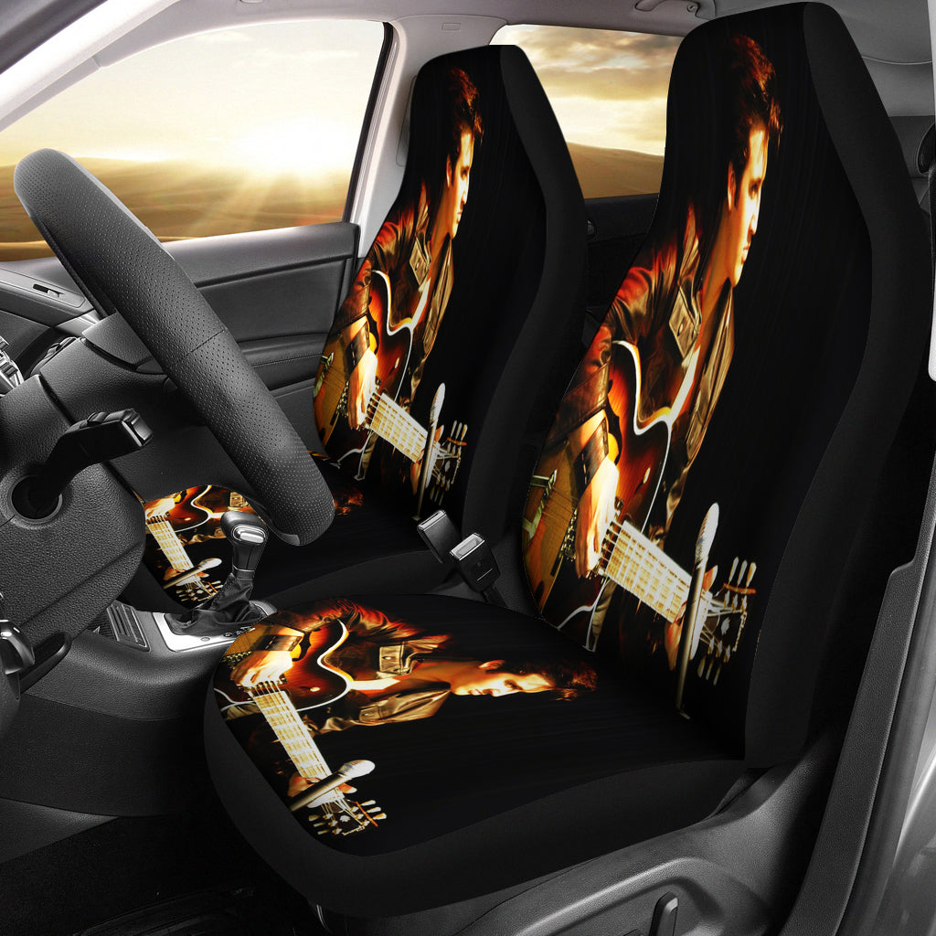 How To Get Stains Out Of Car Seats >> Elvis Presley Car Seat Cover B – Novelty Trends
