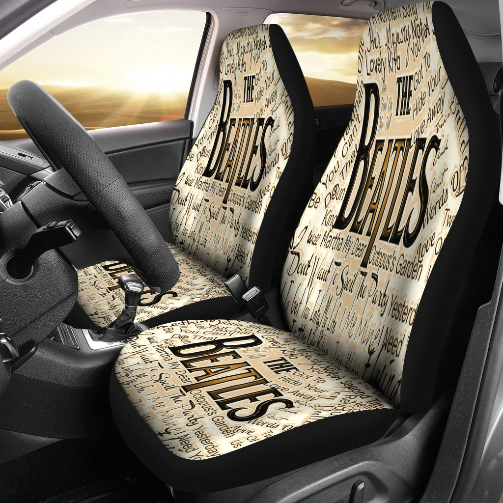 The Beatles Seat Cover B Novelty Trends