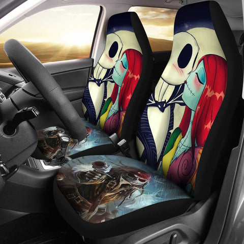 Jack Skellington Car Seat Cover D