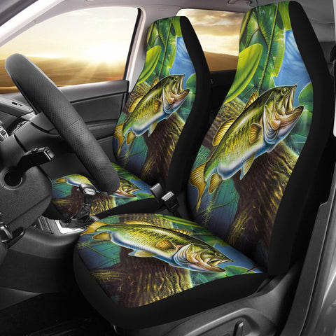 Fishing Car Seat Cover 2