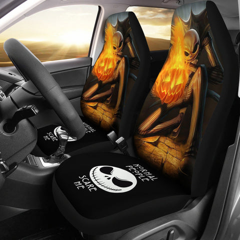 Jack Skellington Car Seat Cover C