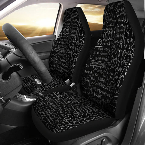 Chemistry Car Seat Cover B