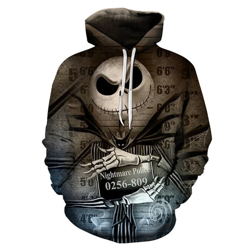 Jack Skellington Limited Edition Hoodie Design M