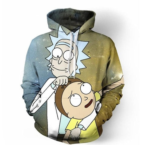 Rick And Morty Men's Hoodie