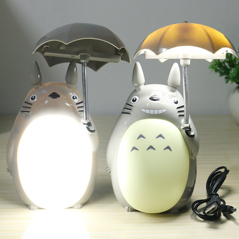Kawaii Cartoon My Neighbor Totoro Lamp Led Night Light Desk Lamps