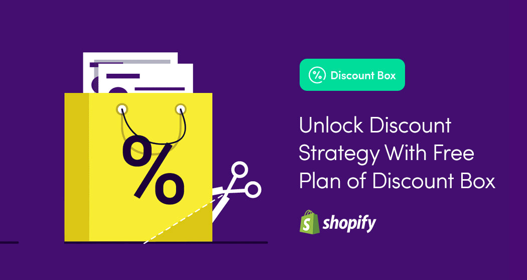 The FREE plan of Discount Box Shopify app is released.