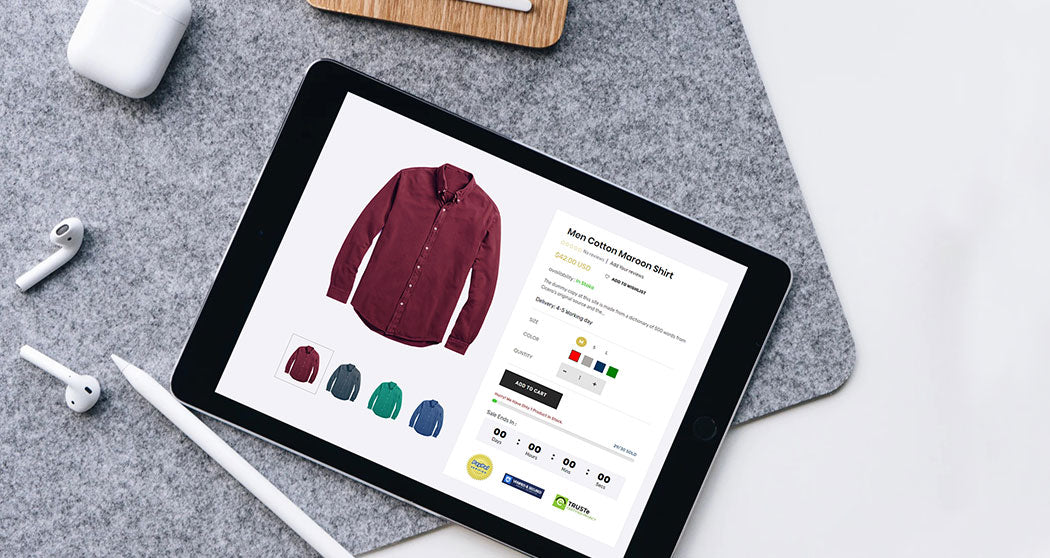 How to make perfect product detail page?