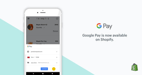 It's time to enjoy checkout process with Google Pay.