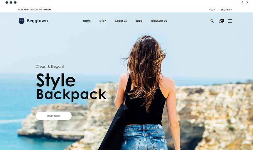 Beggtown - Best Shopify Themes