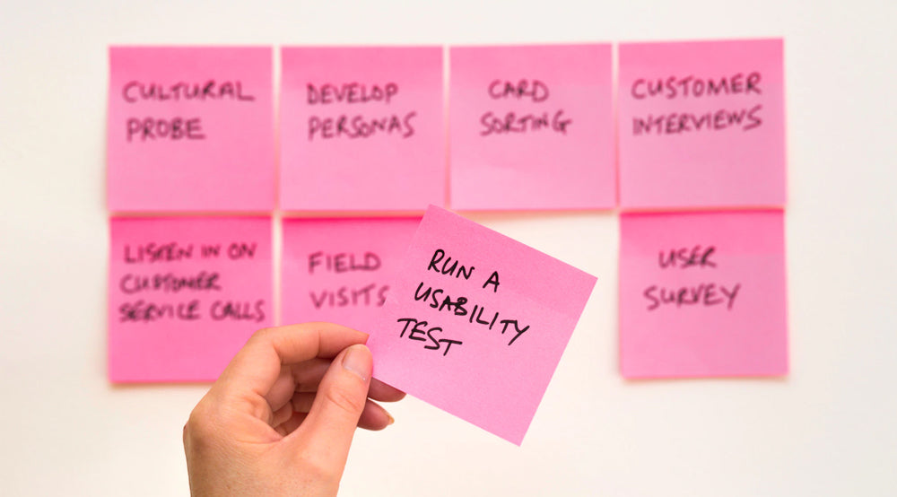 Purpose of your website and prioritize its usability
