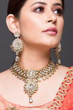 Kundan & Polki Necklace Set