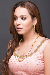 Kundan Single Line Necklace