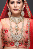 Bridal Set With AD And Pearls