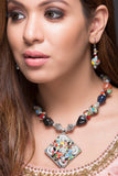 Fancy Colorful Necklace