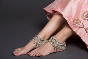 Pearl And AD Anklet