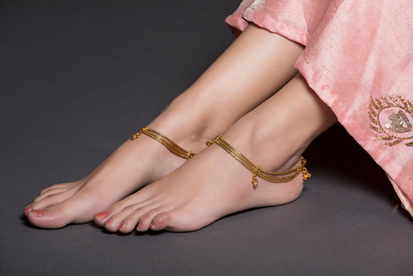 Golden Chain Anklet