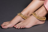 Gold & Pearls Anklet