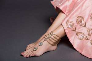High Ankle Anklet