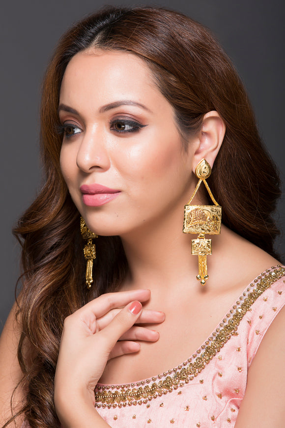Micro-Plated Gold Earrings