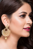 Fashion Earring For Women With Pearl Drop