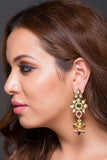 Kundan Earring With Jhumka