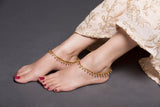 Gold Drop Anklet