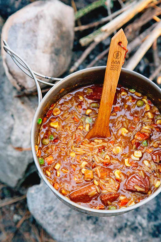 spicy one pot jambalaya with orzo