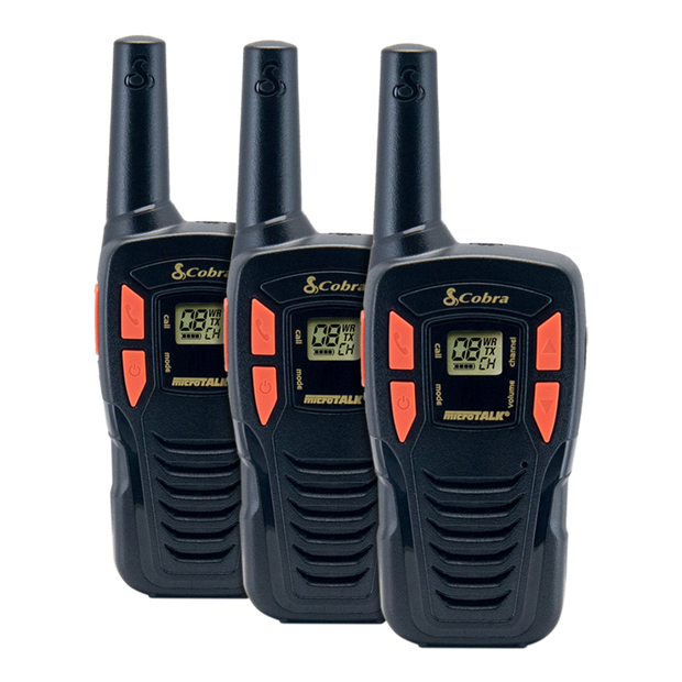 Cobra ACXT145-3 16-Mile Power Saving Two-Way Radio/Walkie Talkie (3-Pack)