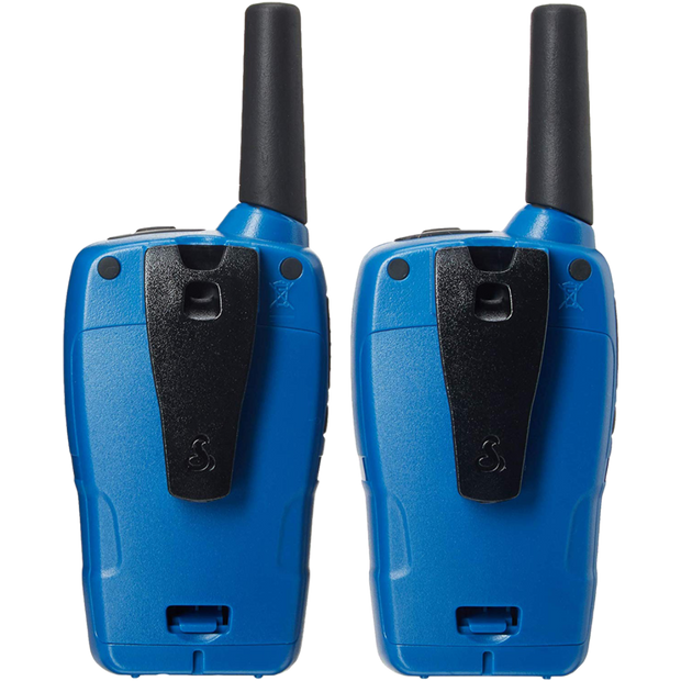 Cobra CXT332 25-Mile Weather Resistant Two-Way Radio/Walkie Talkie Blue