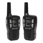Cobra HE145 16-Mile Power Saving Two-Way Radio/Walkie Talkie Black