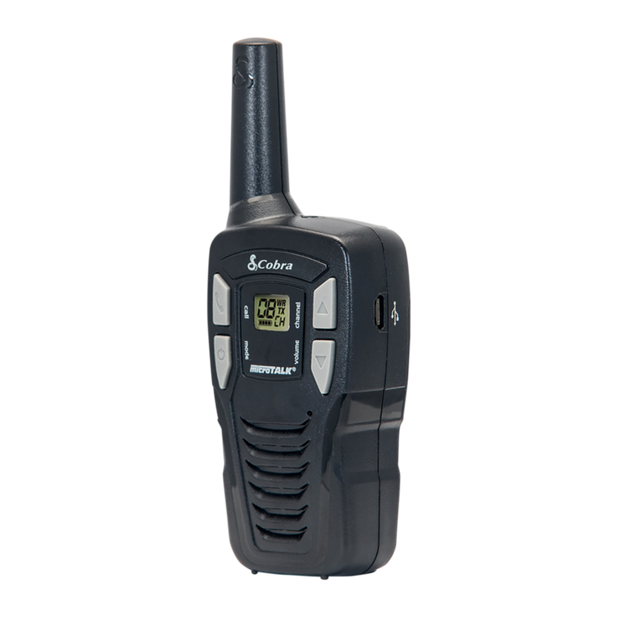 Cobra CX112 16-Mile Two Way Radio/Walkie Talkie (Pair)