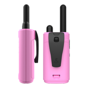 Cobra HE150P 16-Mile Compact Two-Way Radio/Walkie Talkie Camo Pink