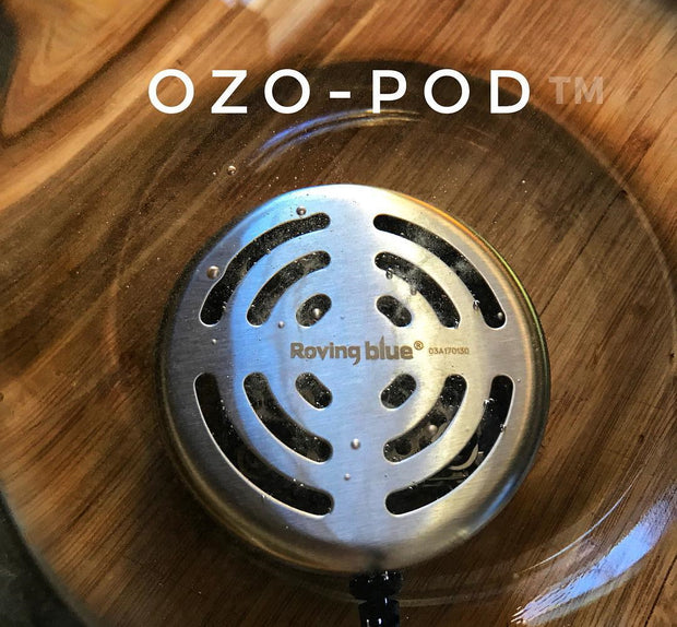 Roving Blue Ozo-Pod 10 All Natural Ozone Air and Water Purifier