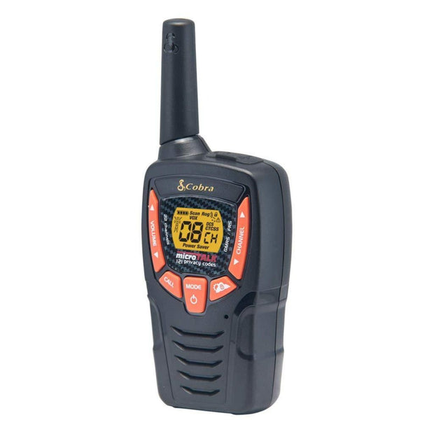 Save 50% When You Buy $50! - Cobra CXT385 Walkie Talkies 23-Mile Two-Way Radios