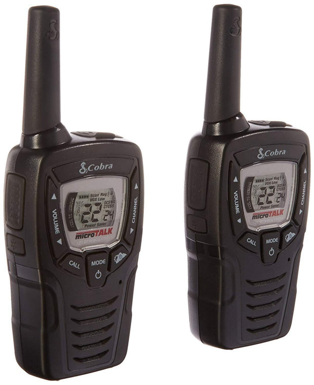 Cobra CXT331 25-Mile Two-Way Radio Walkie Talkie