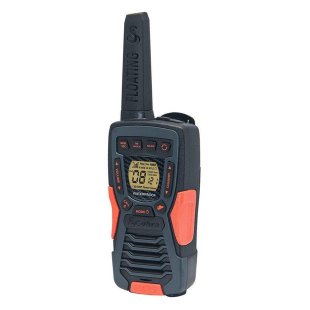Cobra ACXT1035R FLT 37-Mile Floating Two-Way Radio/Walkie Talkie
