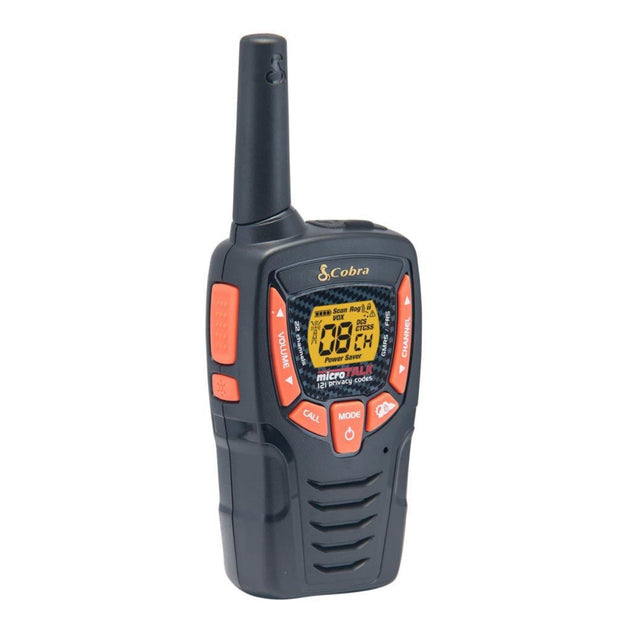 Cobra ACXT345 25-Mile Weather Resistant Two-Way Radio/Walkie Talkie Black